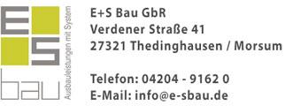 E+S Bau GbR